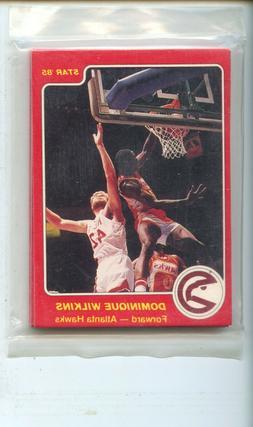 1984-85 Atlanta Hawks Dominique Wilkins 12 Cards Original Se