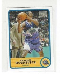 2003 04 bazooka basketball mini insert singles