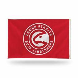 Atlanta Basketball Hawks NBA 3X5 Indoor Outdoor Banner Flag