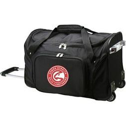 atlanta hawks 22 2 wheeled duffel bag