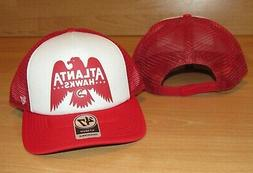 Atlanta Hawks '47 Region Foam Front Mesh Trucker Snapback Ha