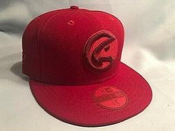 atlanta hawks 59fifty league pop baseball red