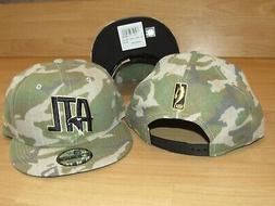Atlanta Hawks New Era 9Fifty Camo Combo Snapback Men's Hat C