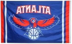 Atlanta Hawks Banner 3x5 Ft Flag