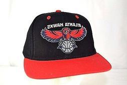 Atlanta Hawks Black/Red Baseball Cap Snapback