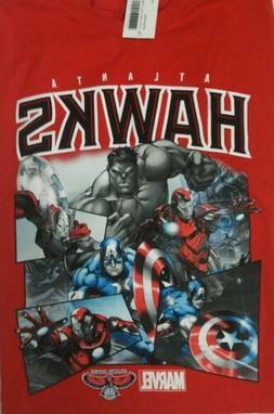 Atlanta Hawks Marvel Comics The Avengers NBA  Men's Shatter
