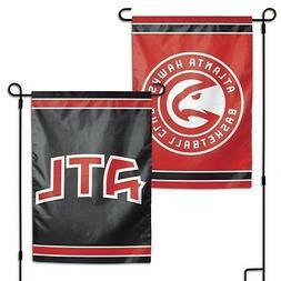 atlanta hawks double sided garden flag 12