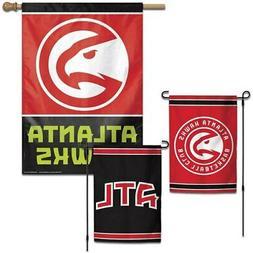 WinCraft Atlanta Hawks House and Garden Flag Pack