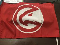 Atlanta Hawks NBA Auto Car Window Flag Logo NEW  11 x 14 FRE