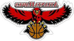 Atlanta Hawks NBA Basketball bumper sticker, wall decor, vin