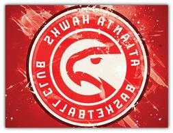 "Atlanta Hawks NBA Basketball Car Bumper Sticker Decal ""SIZES"