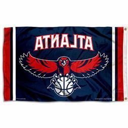 Atlanta Hawks NBA Flag Banner