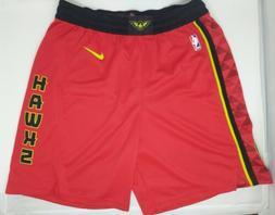Nike Atlanta Hawks NBA Icon Swingman Basketball Shorts Mens