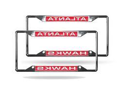 atlanta hawks nba set of 2 chrome