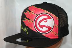 Atlanta Hawks New Era NBA Swipe Trucker 9Fifty,Snapback,Hat,