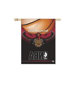 ATLANTA HAWKS ~ Official NBA Outdoor House Flag Banner ~ New
