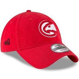 New Era Atlanta Hawks Red Official Team Color 9TWENTY Adjust