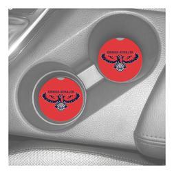 atlanta hawks sandstone car coasters absorbs set
