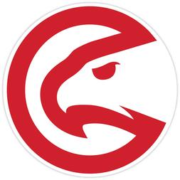 Atlanta Hawks Vinyl Sticker Decal *SIZES* Cornhole Truck Car