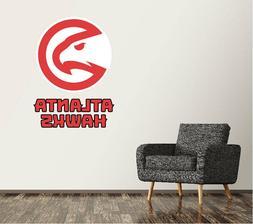 Atlanta Hawks Wall Decal Logo Basketball NBA Art Sticker Vin