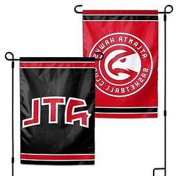Atlanta Hawks WC Garden Flag Premium 2-Sided Outdoor Banner