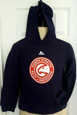 ATLANTA HAWKS Youth Adidas Hoodie Size Small 8 Sweatshirt Pu