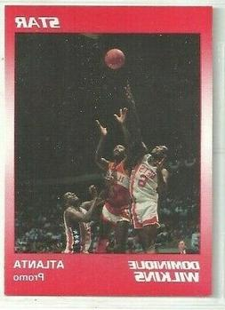 Dominique Wilkins 1990 Star Company Atlanta Hawks Nova Promo