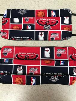 Face Mask / Protection - Atlanta Hawks - NBA - Set of 2 - Wa
