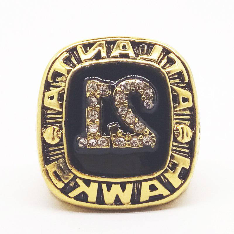 1982-1994 Championship Ring #21 WILKINS of Fame Size