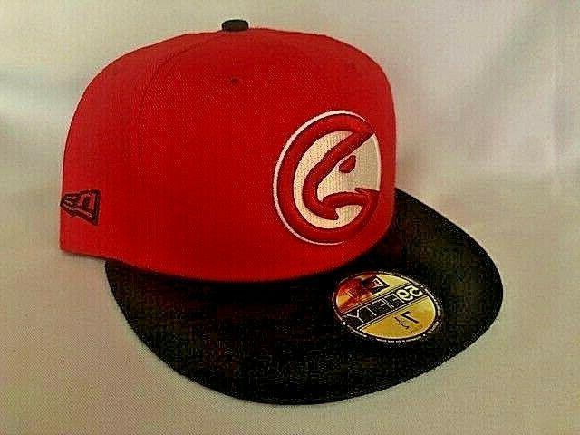 atlanta hawks 59fifty 2 tone baseball red
