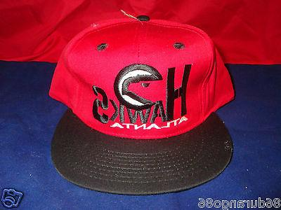 atlanta hawks baseball hat 1990s new without
