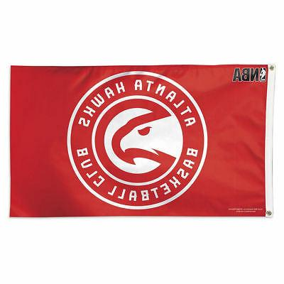 atlanta hawks deluxe flag logo