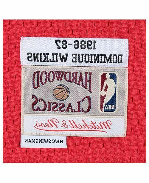 Atlanta #21 Ness 1986-87 NBA Swingman Jersey