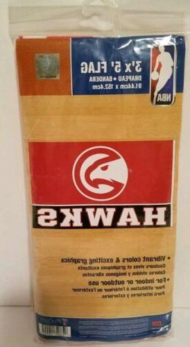 atlanta hawks flag 3 x5 nba free