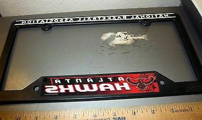 atlanta hawks nba basketball team plastic license
