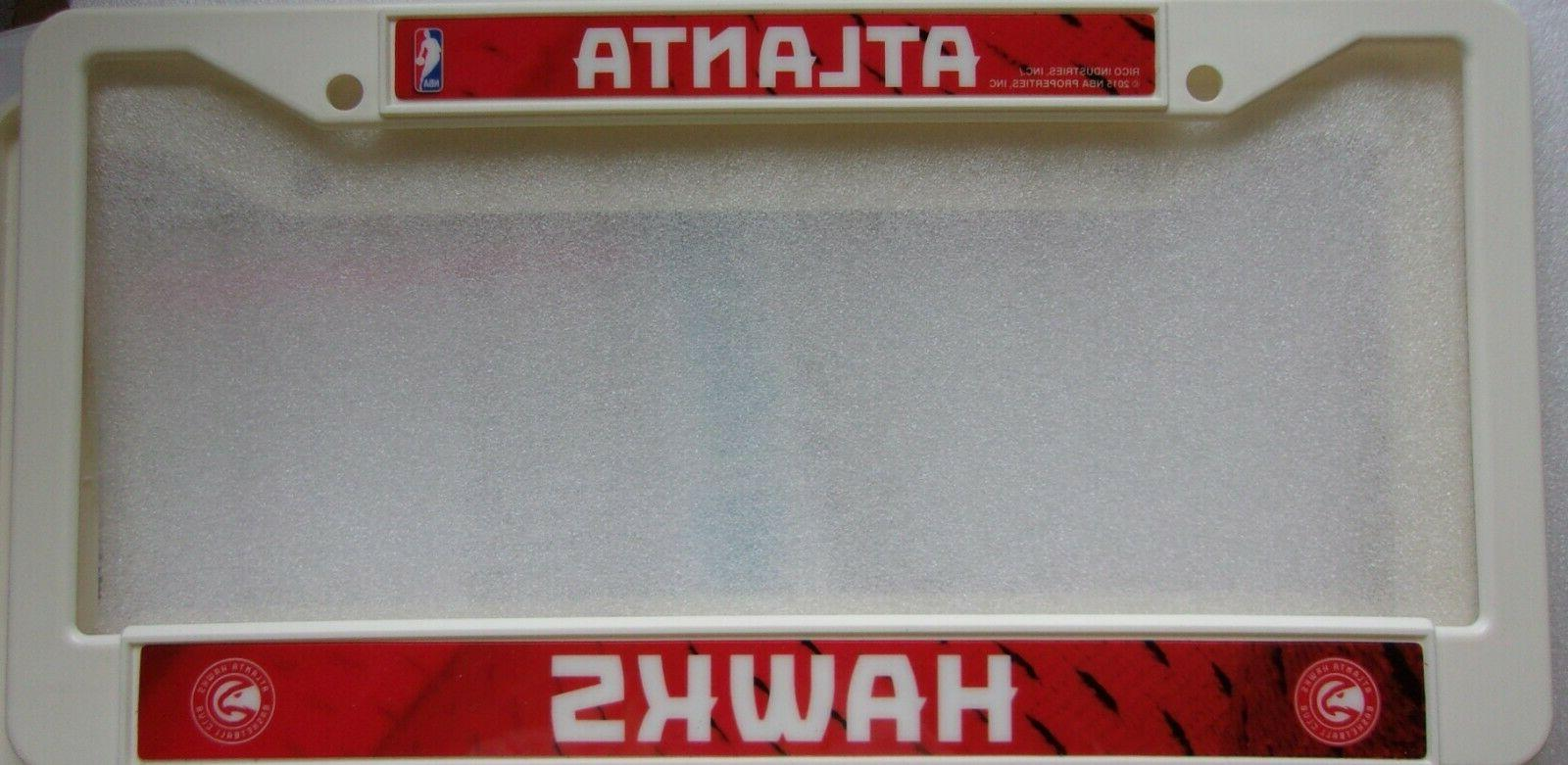 atlanta hawks plastic license plate frame 930