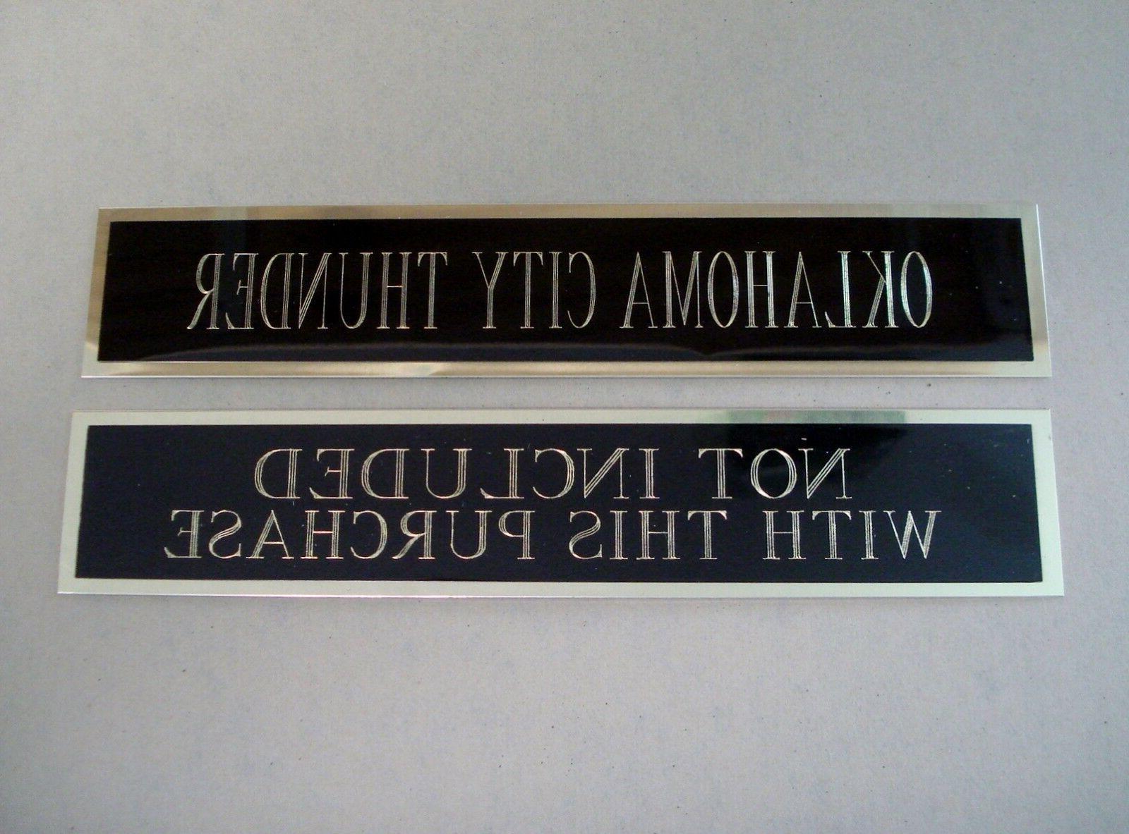 Atlanta Hawks Case Engraved Nameplate