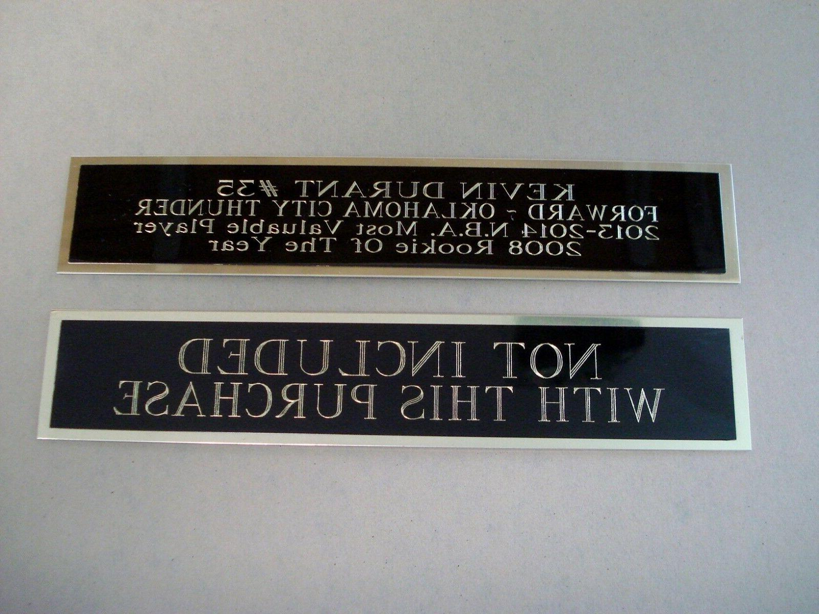 Atlanta Hawks Basketball Case W/ An Engraved Nameplate