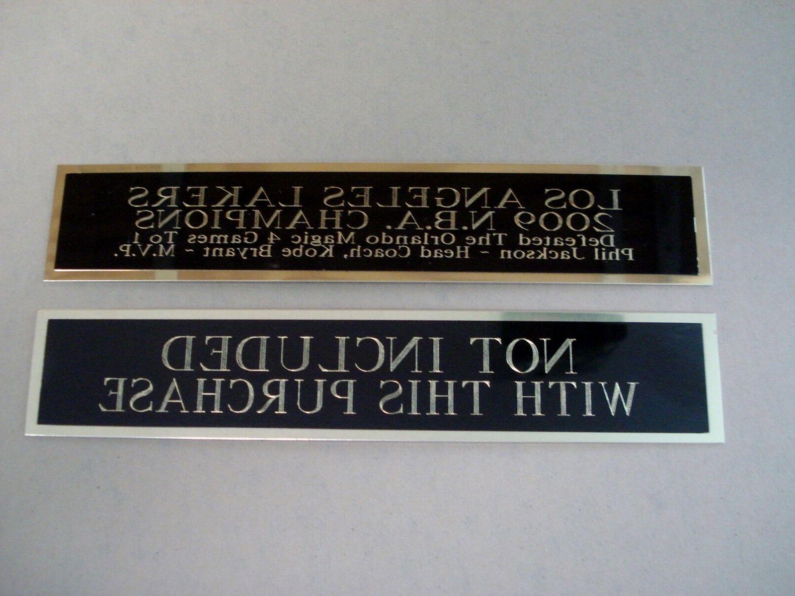 Atlanta Display Case W/ Engraved