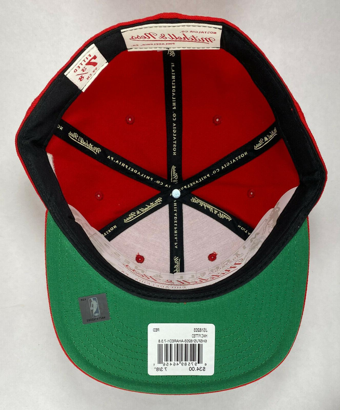 Mitchell and Ness NBA Atlanta Crown Fitted Hat, Cap, New