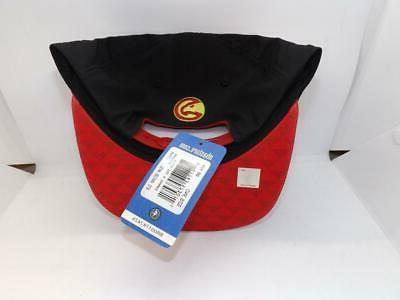 New Hawks Mens Size OSFA Flatbrim Snapack Hat