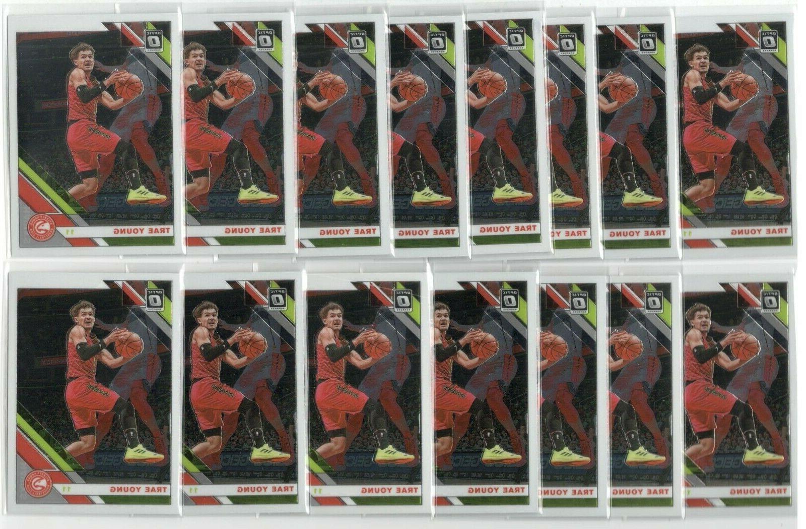 x26 TRAE YOUNG 2019-20 Panini Optic #2 Basketball Card lot/s