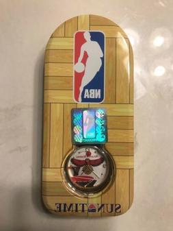 Mens Sun Time Atlanta Hawks Basketball NBA Sports Watch Rare