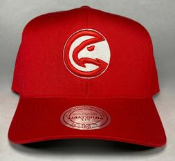 Mitchell and Ness NBA Atlanta Hawks Red and White 110 Flexfi