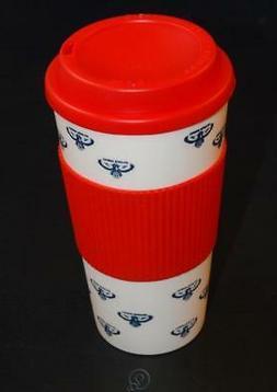 NBA Atlanta Hawks 16 Oz Plastic Tumbler Travel Cup Hot/Cold