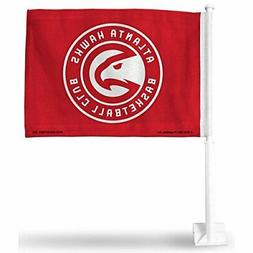 Rico Industries NBA Atlanta Hawks Car Flag