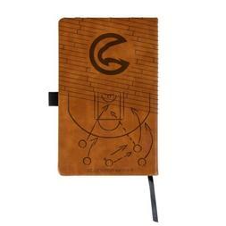 nba atlanta hawks laser engraved leather notebook