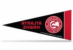 "NBA Atlanta Hawks Mini Pennant 9""x4"", New, Made in USA"