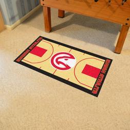 FANMATS NBA Atlanta Hawks Nylon Face NBA Court Runner-Small