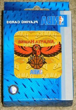 nba atlanta hawks playing cards new in